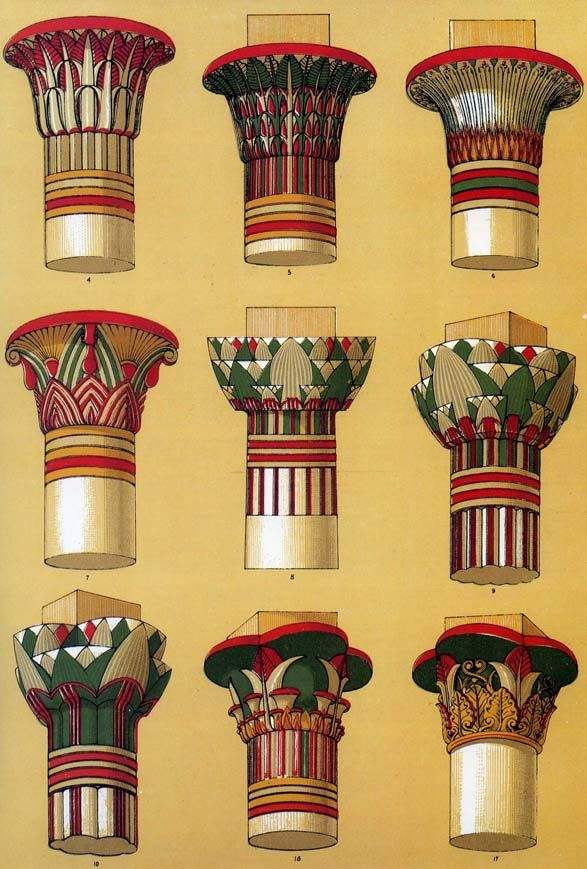 The Textile Blog Owen Jones And Egyptian Revival