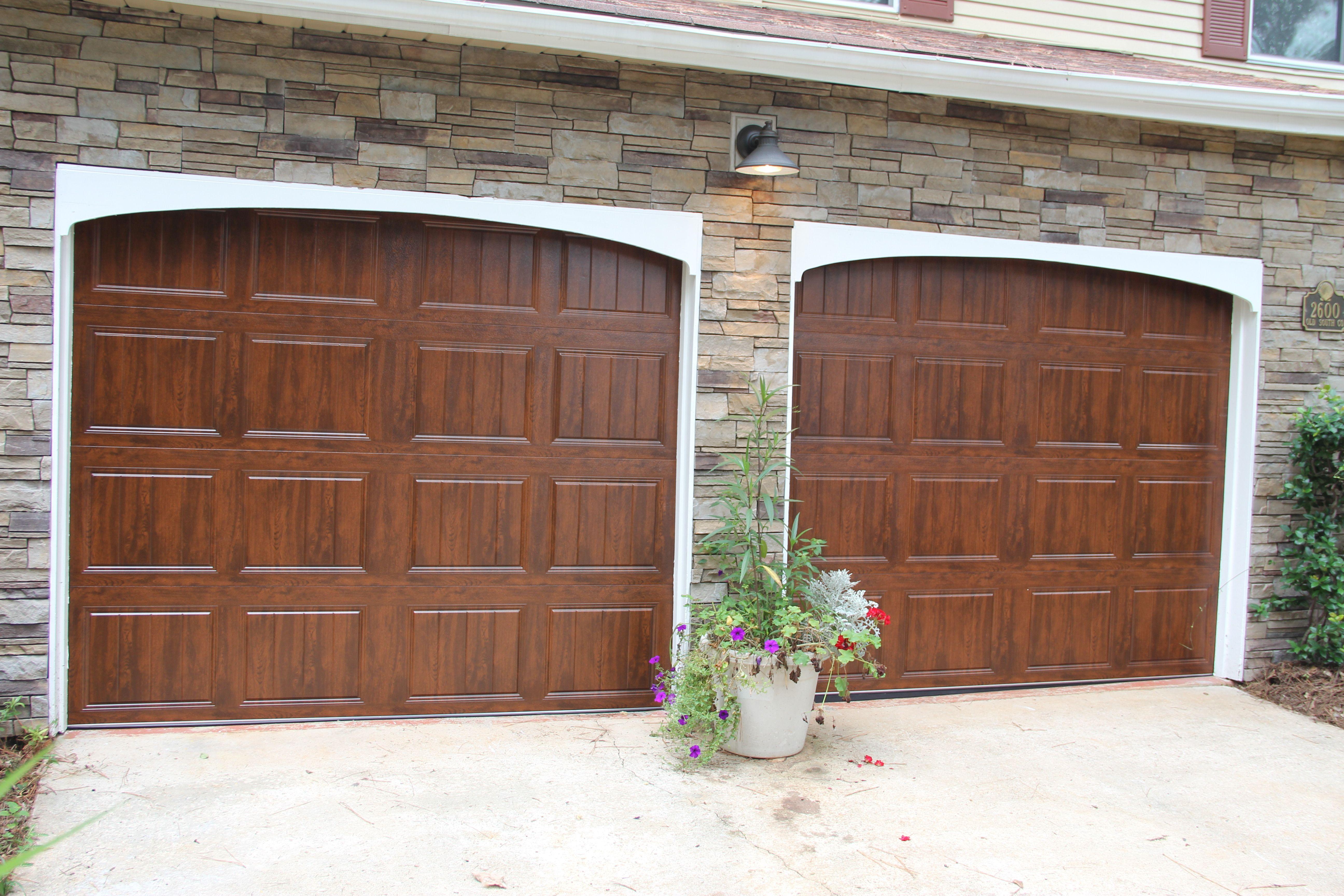 New Garage Door Installation Replaced 20 Year Old Doors Colby