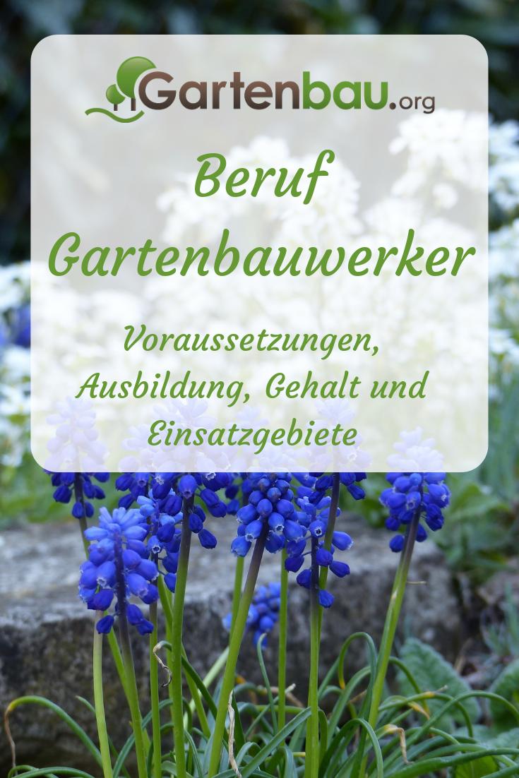 Das Berufsbild Des Gartenbauwerkers Voraussetzungen Ausbildung Gehalt Und Einsatzgebiete Handwerk Garten Ausbildun Ausbildung Gartenbau Staudengartnerei