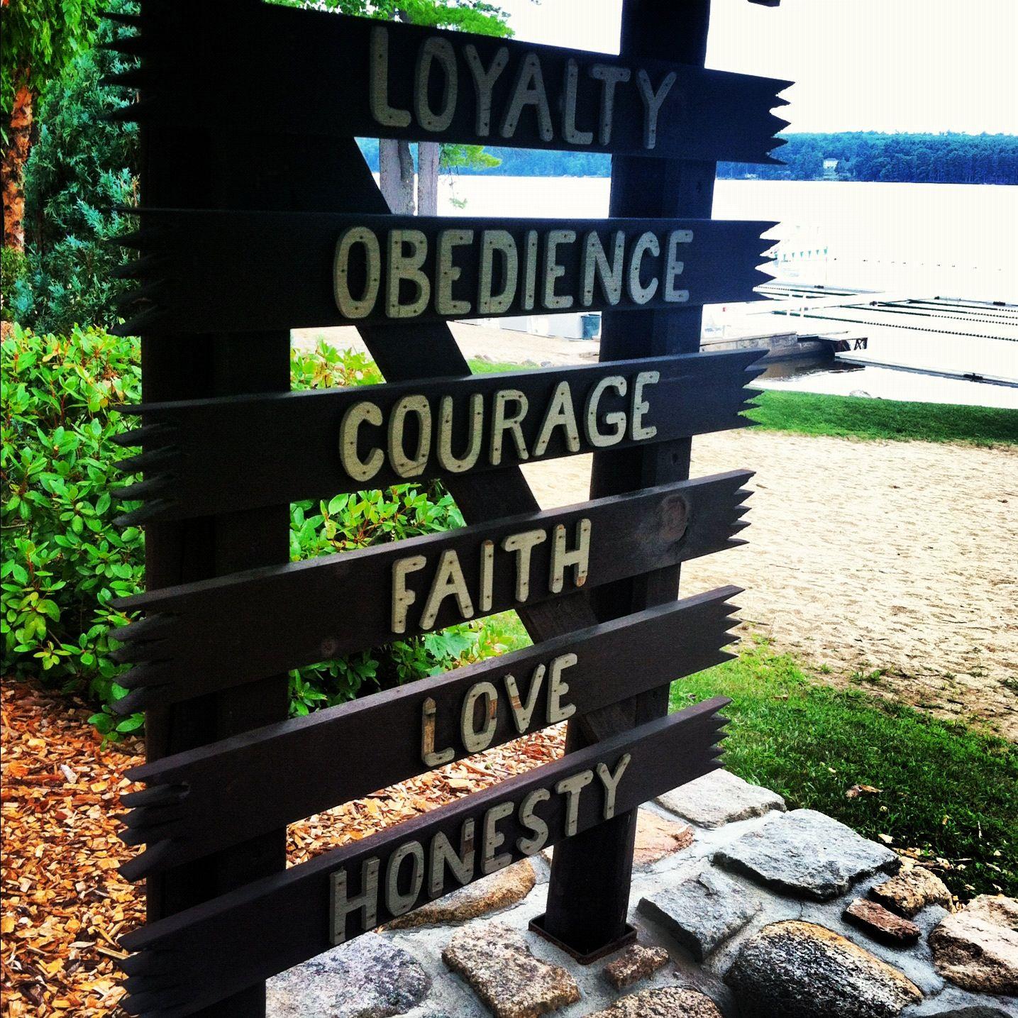 Camp values #summer365