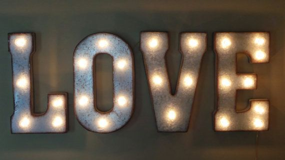 Love 21 Large Metal Marquee Letters Wedding Letter Etsy Marquee Letters Wedding Wedding Letters Marquee Letters