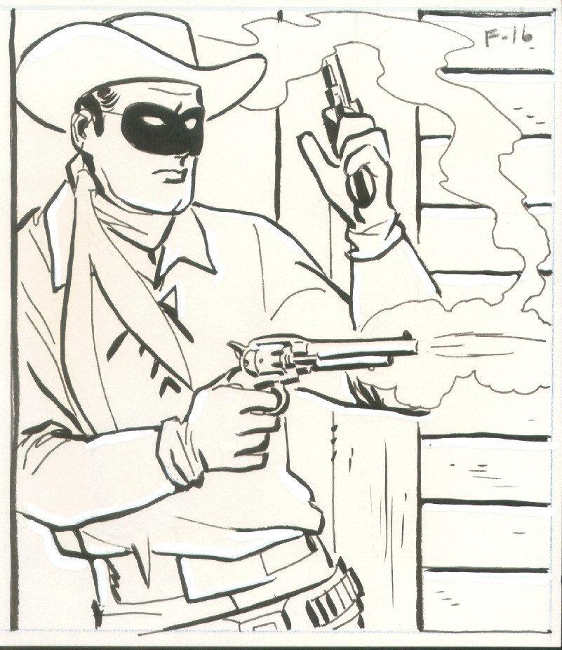 Alex Toth Lone Ranger Lone Ranger