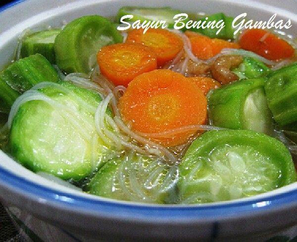 Sup Oyong Wortel Soon Resep Makanan Asia Resep Masakan Masakan