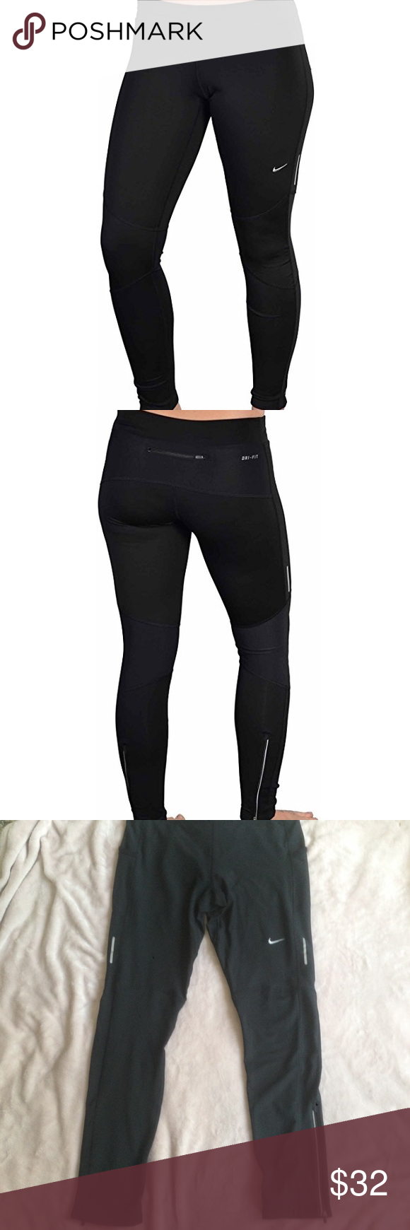 authorized site arrives cheapest Nike dri-fit running workout legging tights Nike dri-fit ...
