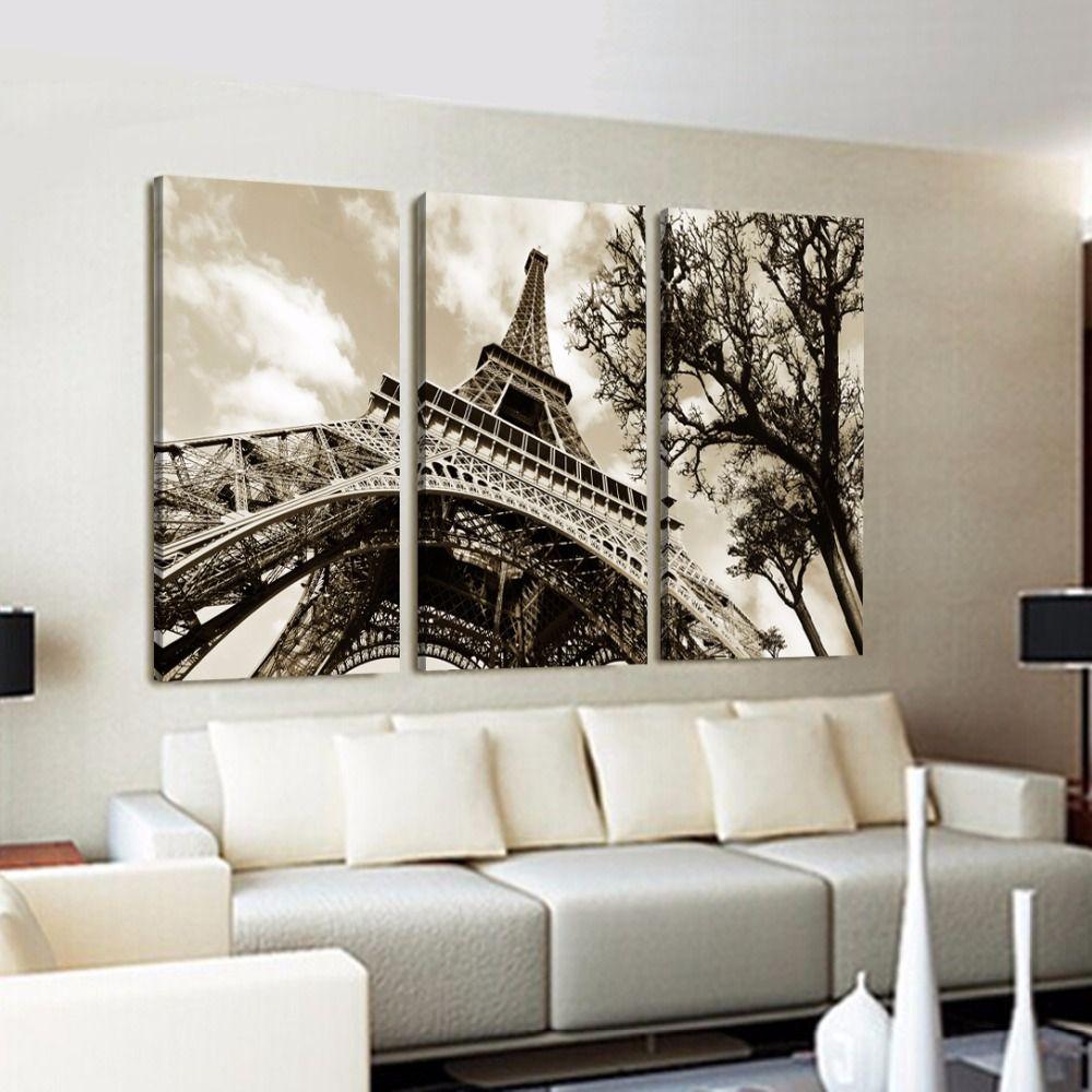 Cuadros modernos de la torre eiffel buscar con google for Pintura para apartamentos modernos