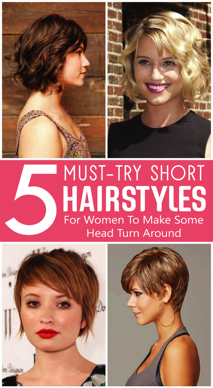 musttry short hairstyles for women to make some head turn around
