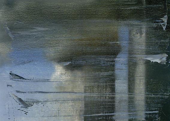 Gerhard Richter. September, 2009. Print between glass