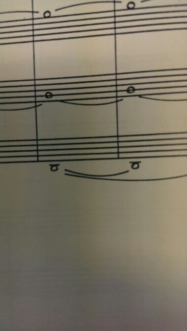 Smarmy music notes.