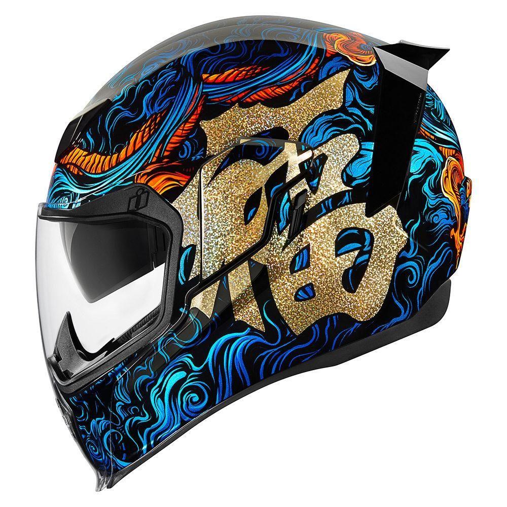 ICON AIRFLITE GRAPHIC HELMETS Helmet, Icon helmets, New