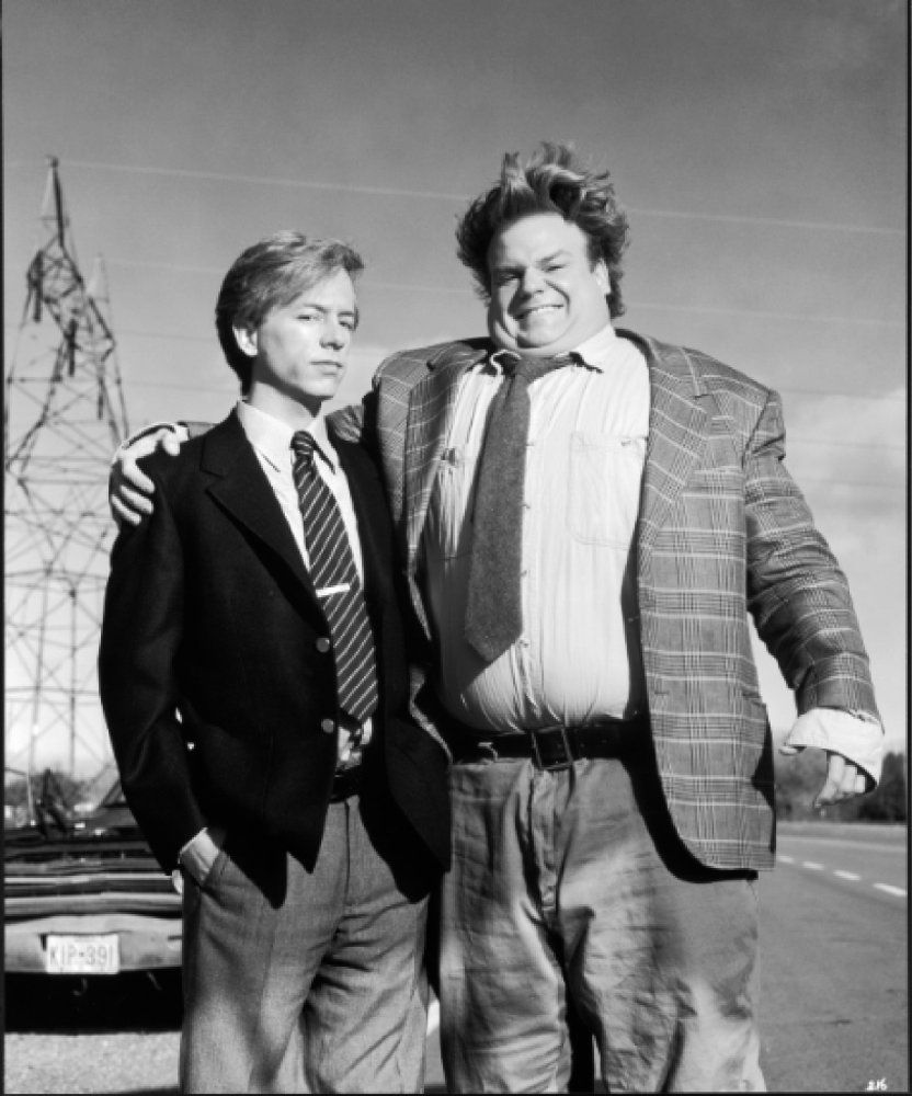 Chris Farley and David Spade in Tommy Boy (1995) Tommy