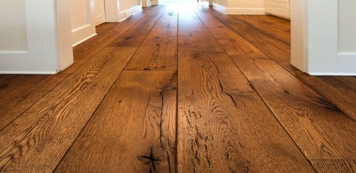 Rustic Wide Plank Flooring