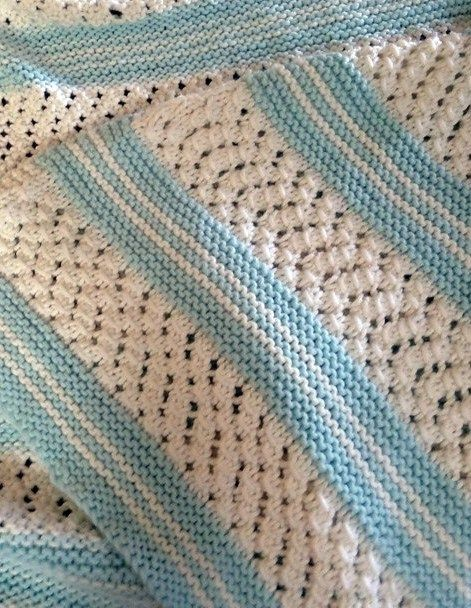 98d856e06a6d Easy Baby Blanket Knitting Patterns
