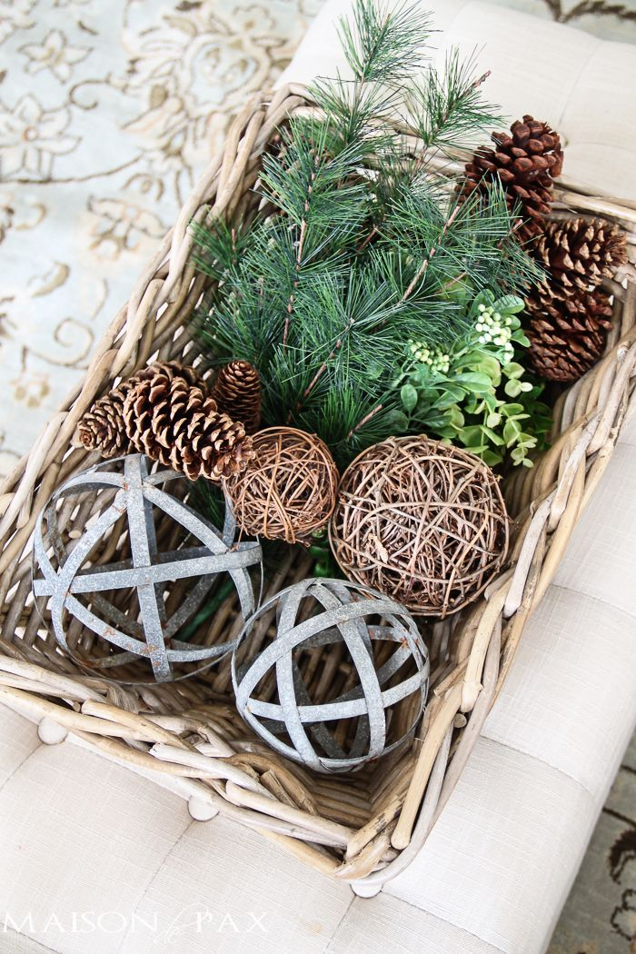Ideas For Filling Decorative Bowls Easy Christmas Decor Fillers  Bowls Holidays And Christmas Decor
