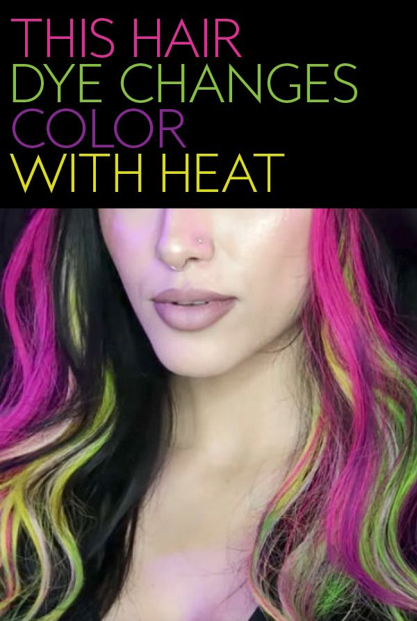 If You Liked Mood Rings Youll Love Color Changing Hair Dye