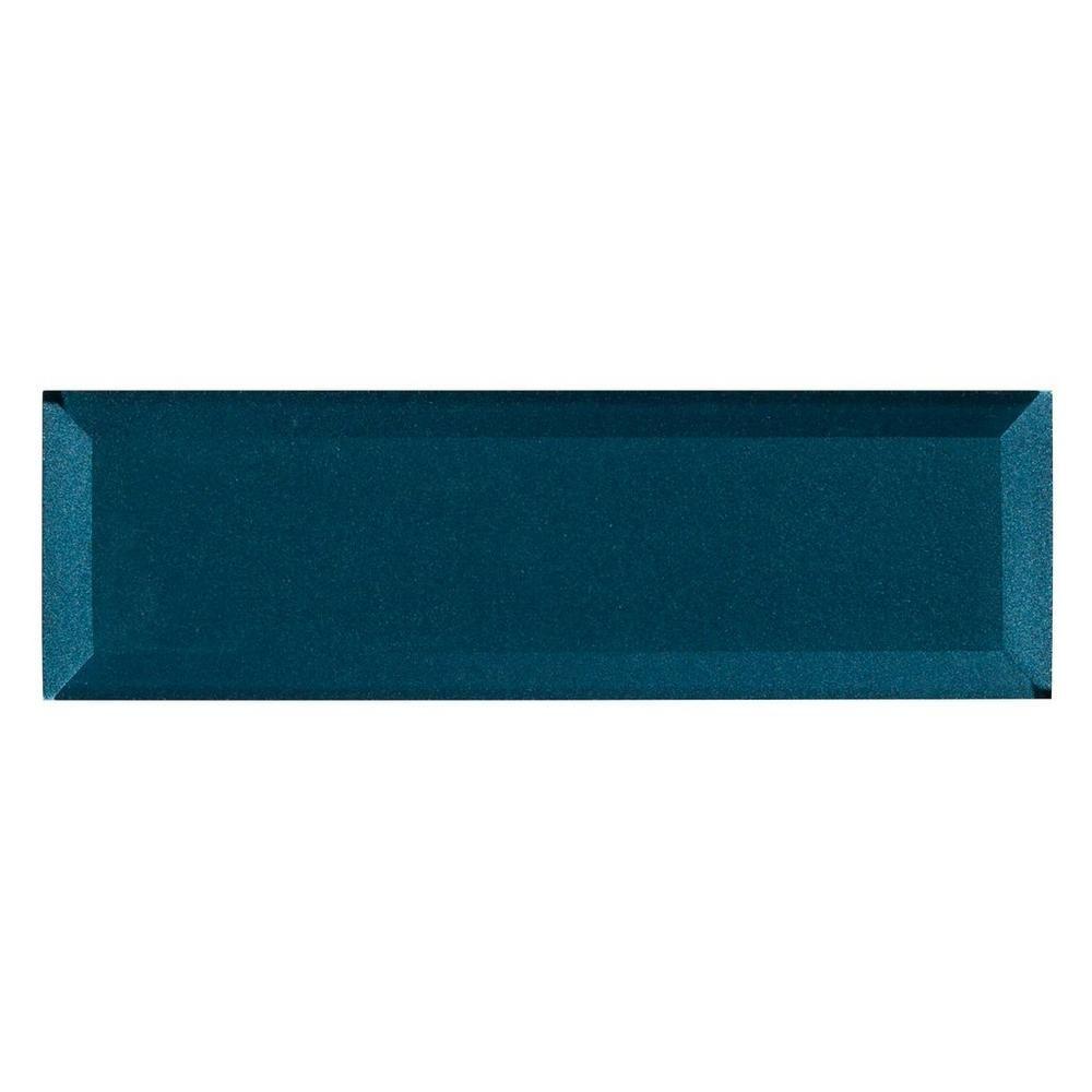 Parisian Blue Glass Wall Tile | Wall tiles, Wall carpet ...
