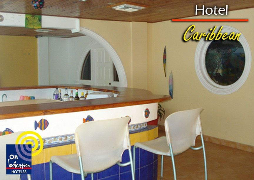 Bar hotel Caribbean, para disfrutar de excelentes bebidas
