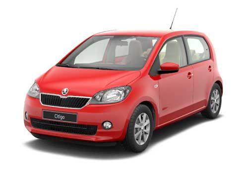 Skoda Citigo Ruby Red Car Coches