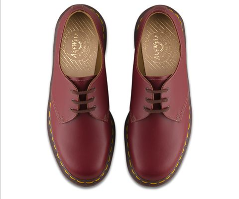 Doc Martens 1461 OXBLOOD QUILON Men's Size 10