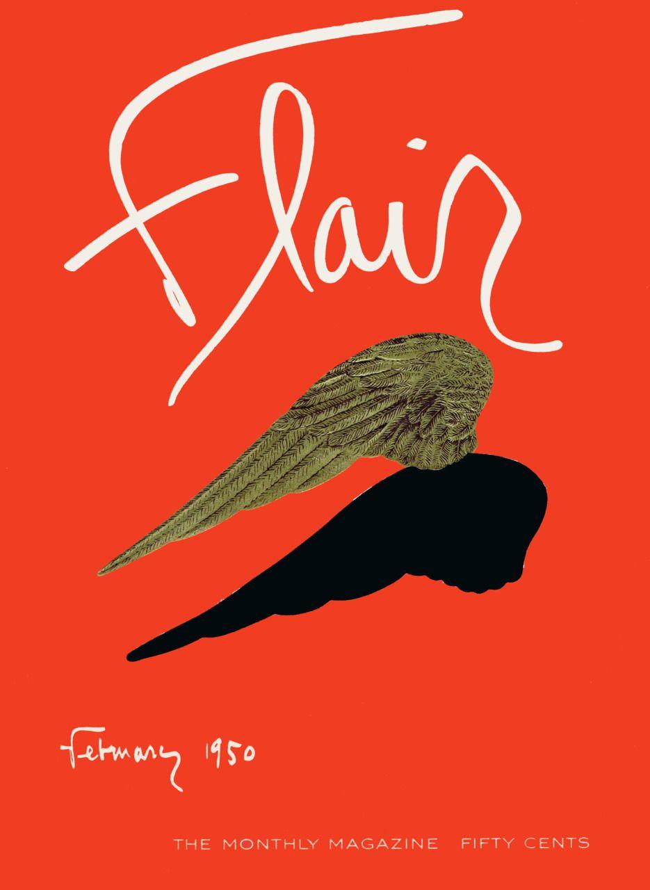 Harry bertoia for knoll inc bird chair catawiki - Flair Magazine Cover February 1950