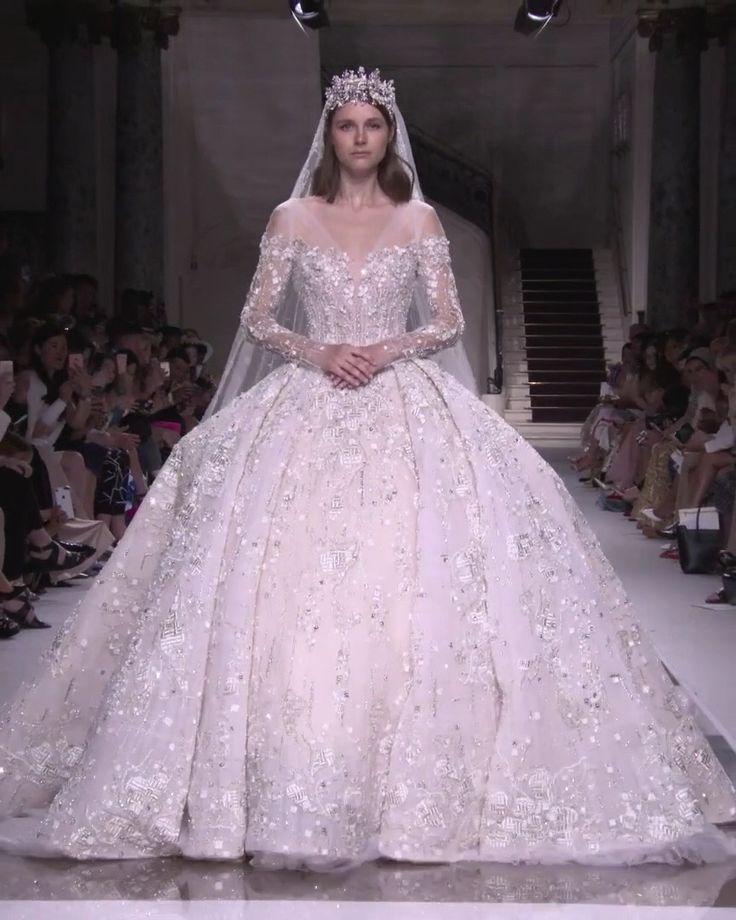 Ziad Nakad Look 56. Herbst Winter 2019/2020 Haute Couture Kollektion – ♥ Hochzei …   – Summer Wedding