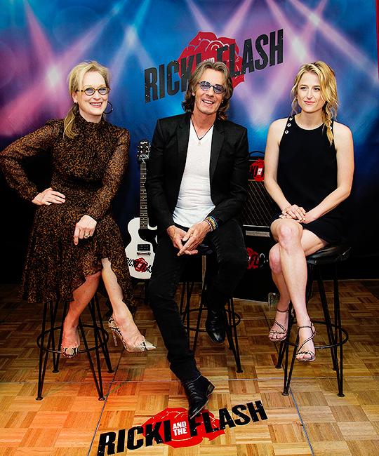 Meryl Streep, Rick Springfield & Mamie Gummer (Ricki and the Flash)