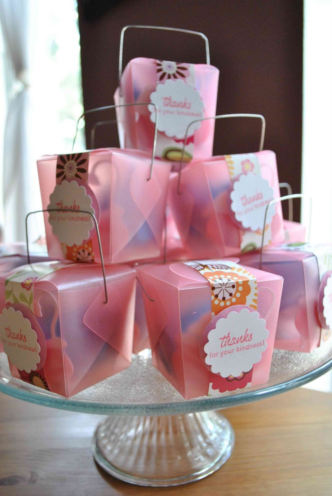 Baby Shower Favors Ideas | clearlytangled.: handmade baby shower ...