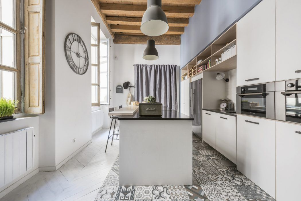 Apartment in Lyon by Espaces Atypiques | Lyon, Apartments and Lofts