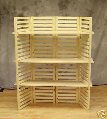 display wood selfs for crafts booths display shelf. Black Bedroom Furniture Sets. Home Design Ideas