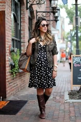 9489870f301e8 maternity dress with boots - Google Search | Charlotte