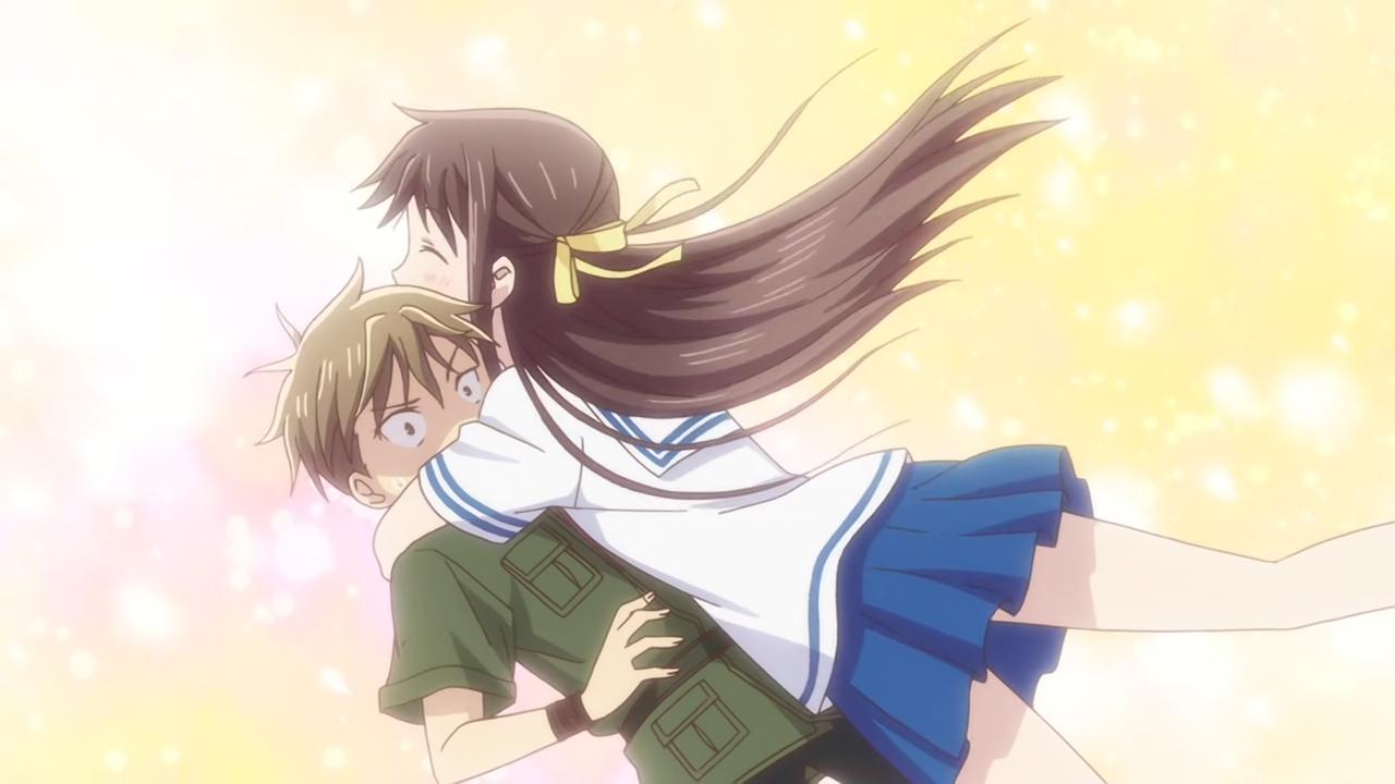 Ep20 hug penalty Fruits basket, Anime, Basket