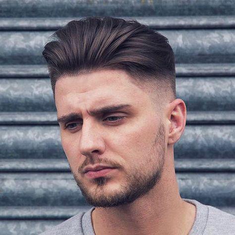Los mejores peinados para cara redonda Hombres cortes Pinterest