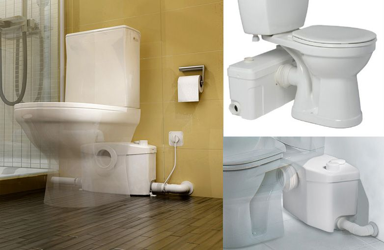 Installing A Toilet In Your Basement Or Spare Room Without A Standard Plumbing Drain Toilet Plumbing Clogged Toilet