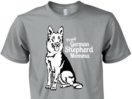 Proud German Shepherd Momma