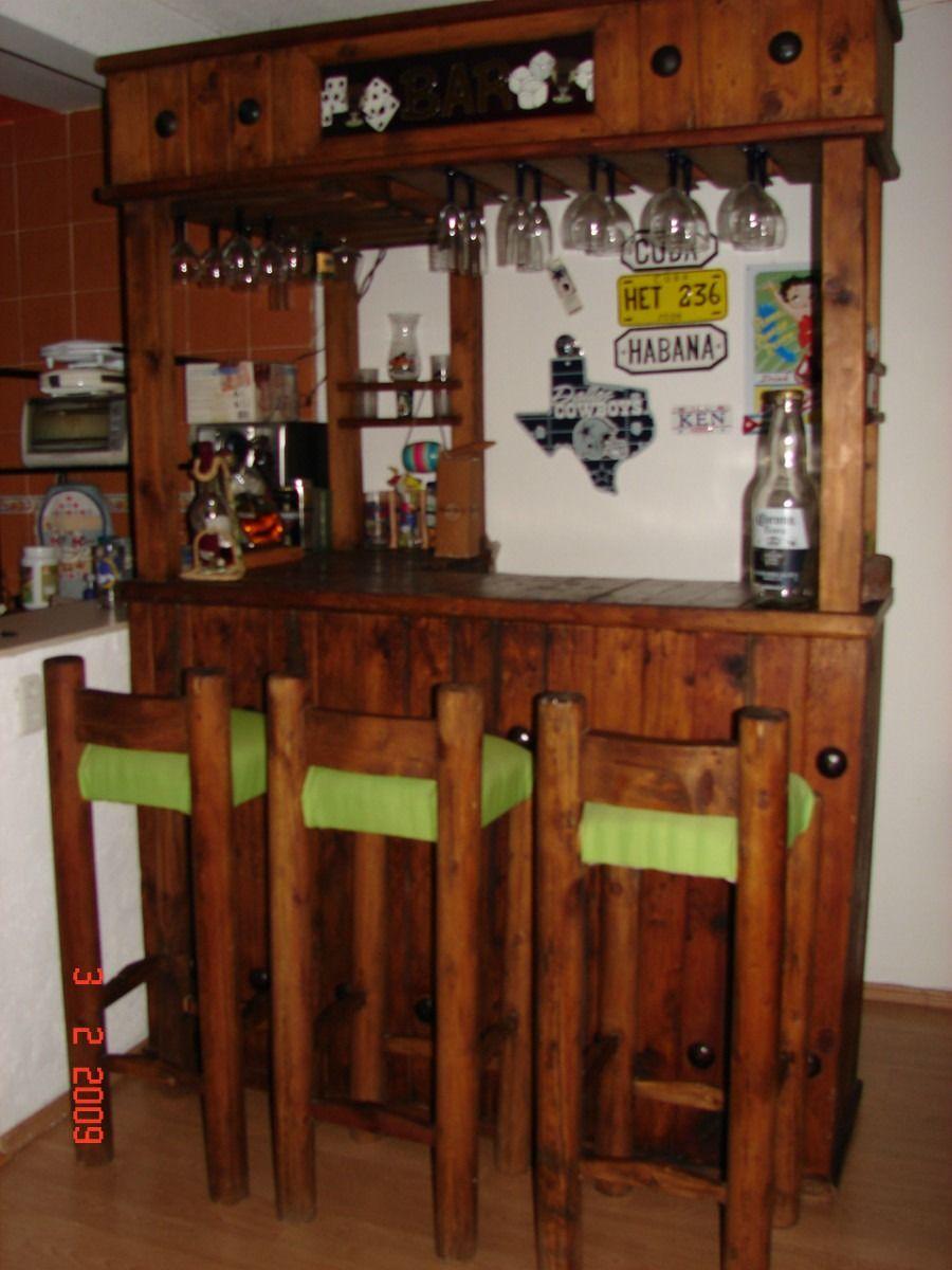 Bonita cantina muebles tarimas pinterest muebles muebles r sticos y mueble bar - Mueble bar rustico ...