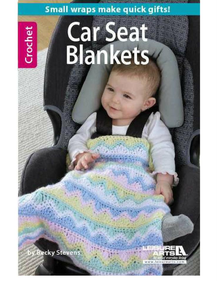 Crochet Car Seat Blankets Softcover Crochet Car Car Seat