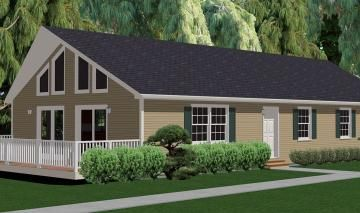 Ranch Chalet Lake House Plans Cabins And Cottages Modular Home Plans