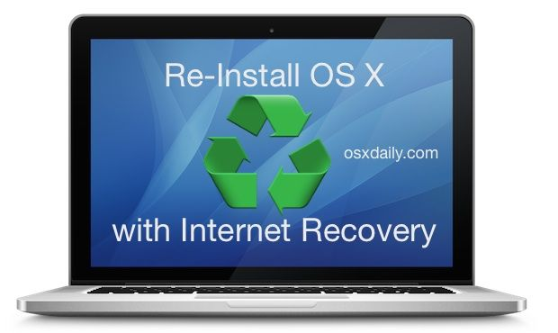 How To Re Install Os X With Internet Recovery On A Mac Phone Info Mac Hacking Computer