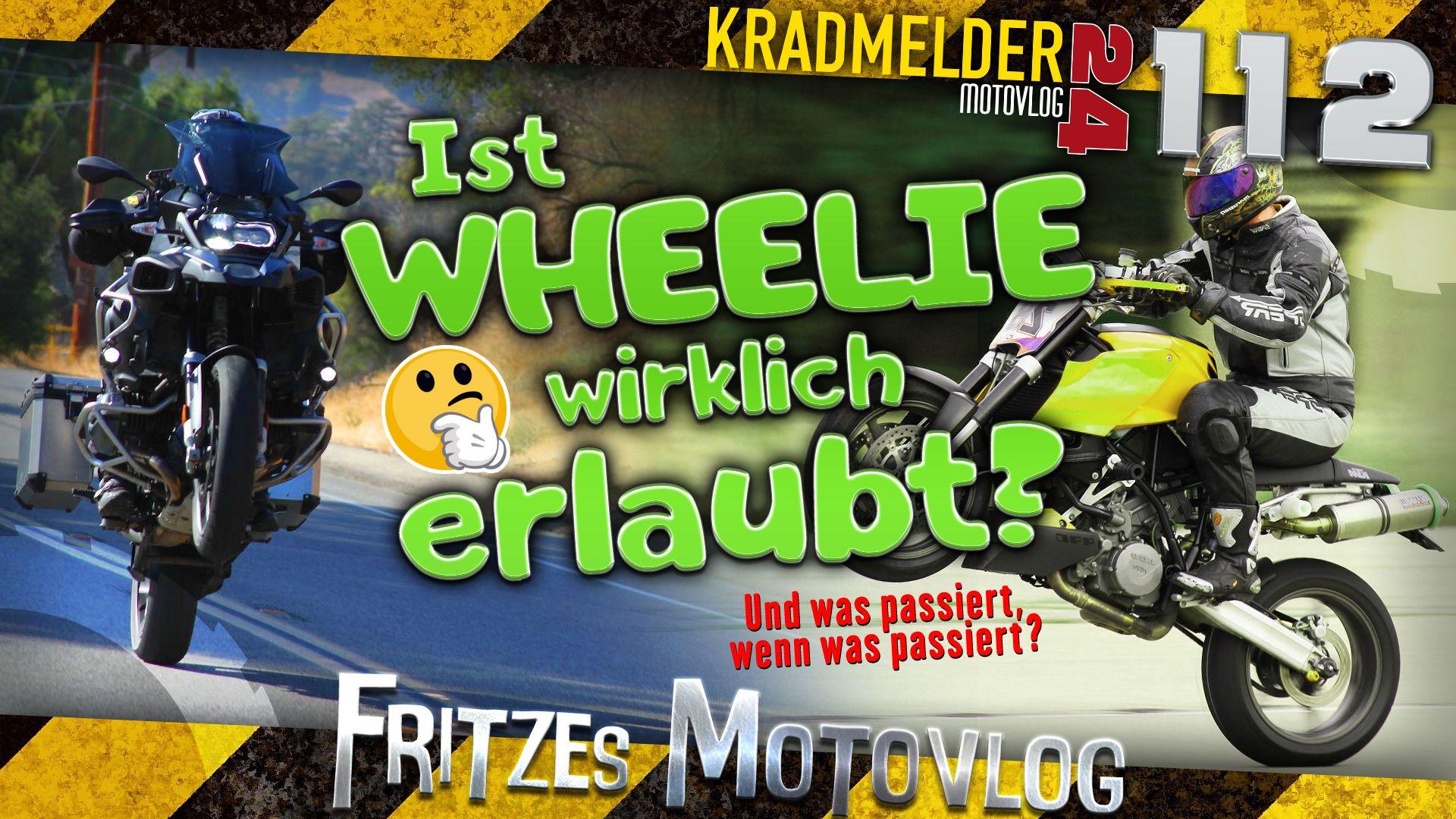 Ist Motorrad Fahren Erlaubt