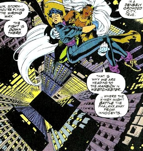 Yukio And Storm Storm Marvel Comic Book Characters Marvel