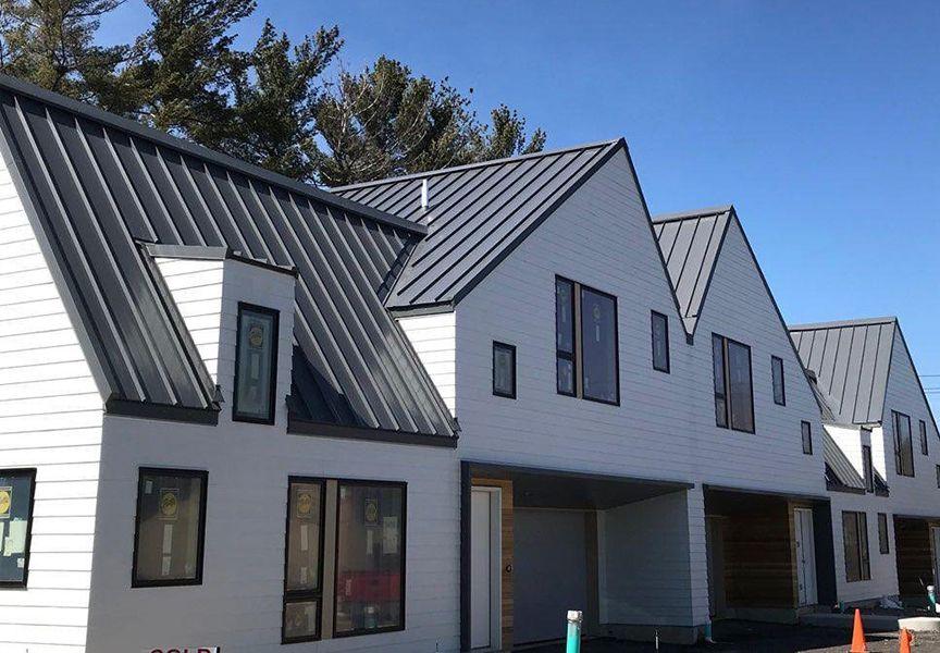 Standing Seam Metal Roofing Condo Google Search Standing Seam Metal Roof House Styles