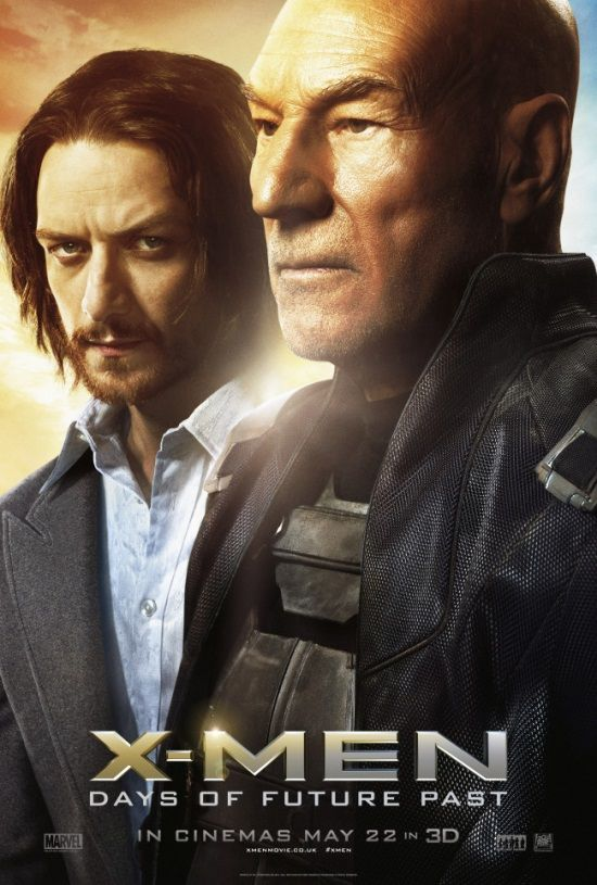 X Men Days Of Future Past Character Posters Show Storm Professor X And Beast Days Of Future Past X Men James Mcavoy