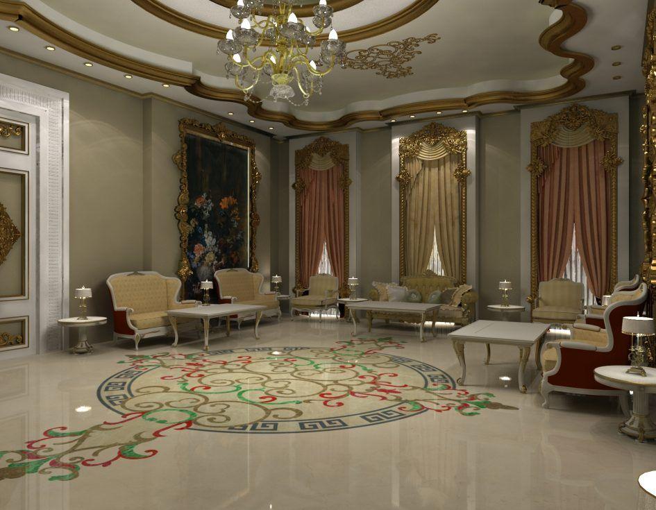 chambre enfant, Modern Baroque Architecture Interior Style Design