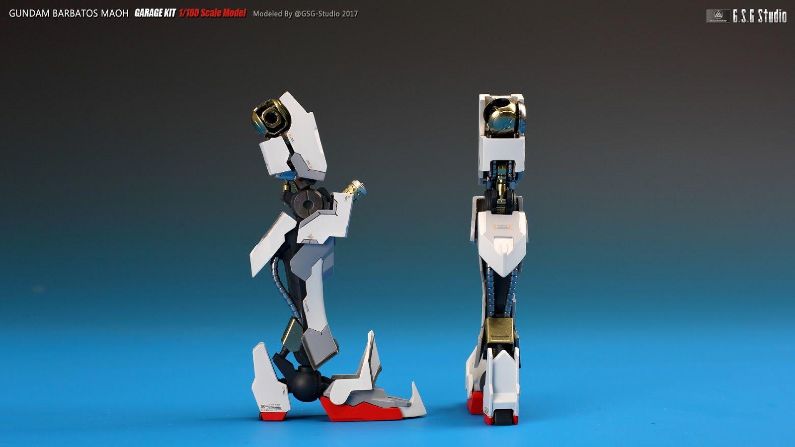 Gundam Barbatos Maoh - Custom Build     Modeled by GSG-Studio