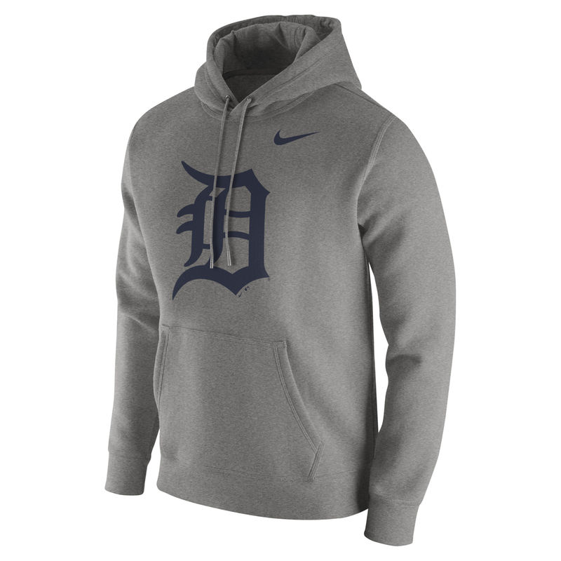 huge discount 7da0d e17ab Detroit Tigers Nike Club Hoodie - Heathered Gray | Products ...