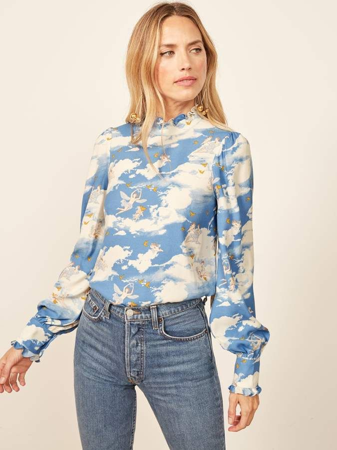 5a4d798d4c Reformation Tali Top. Reformation Tali Top Reformation, Stage Outfits,  Fashion Addict, Long Sleeve Tops, Floral