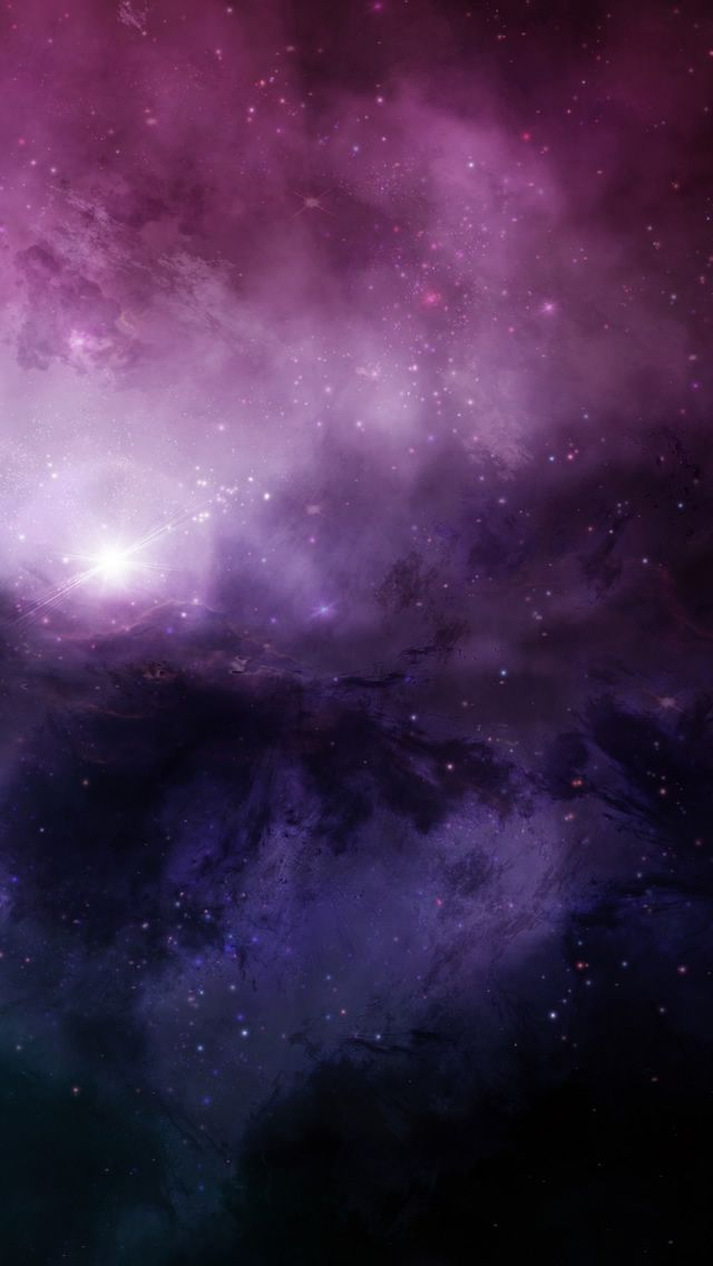 Illuminating The Dark Universe iPhone 5 Wallpaper | *Beauty Tools*