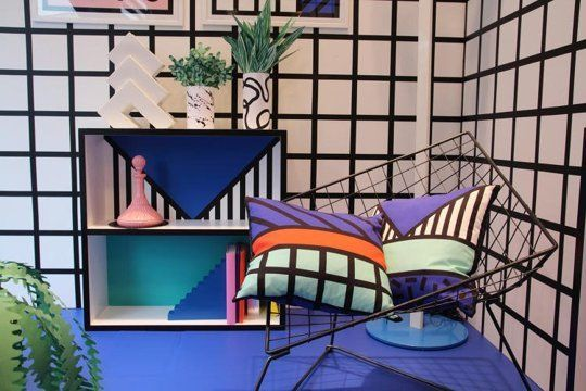 This Memphis-Inspired Home Collection is '80s Perfection — Design News   Apartment Therapy
