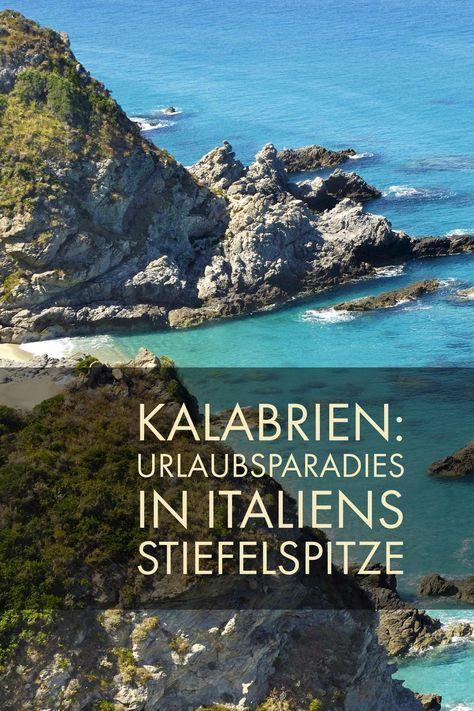 Suden Von Italien Vulkan Und Kuste Kalabrien Urlaub Kalabrien