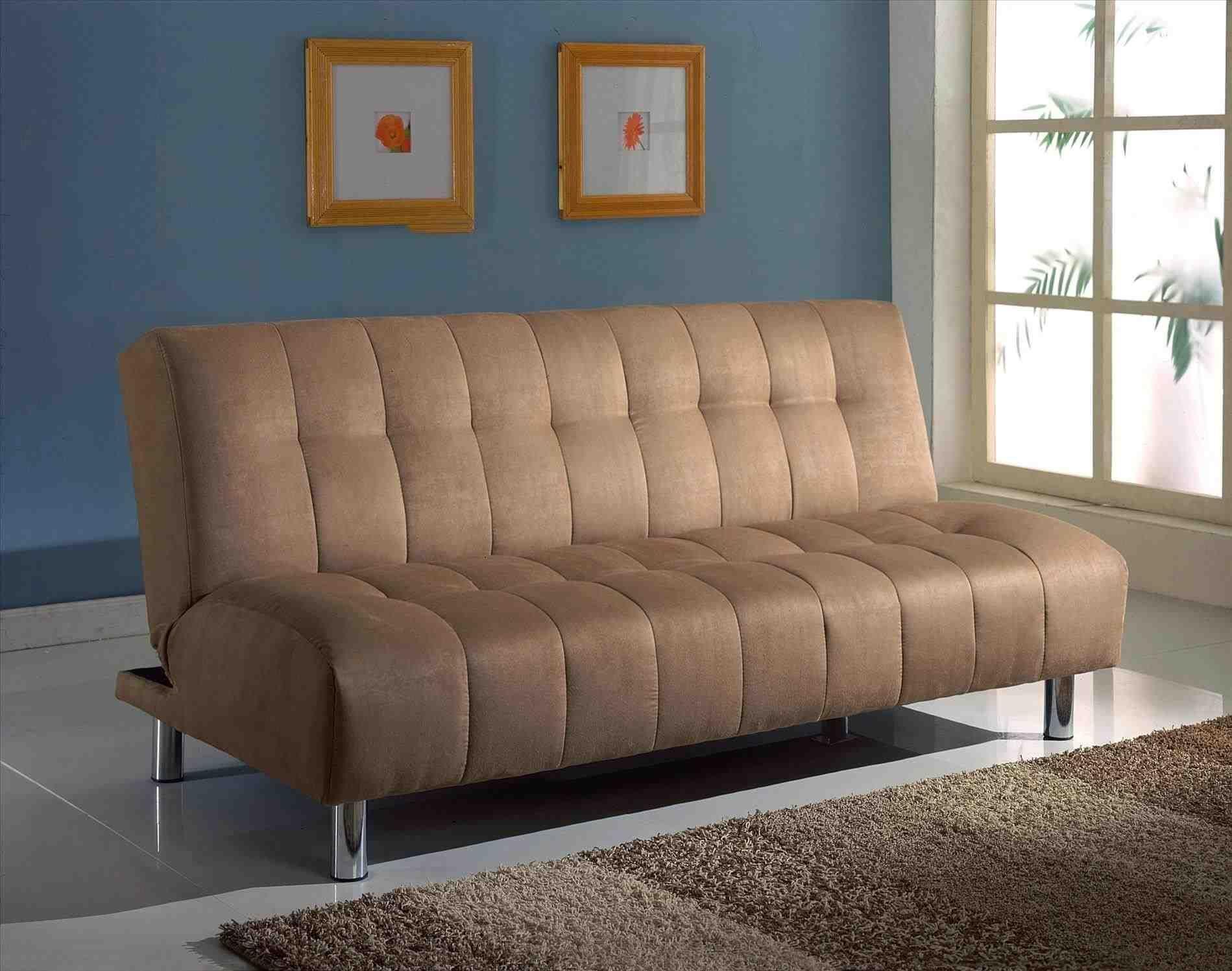 Leather Sofa Bed Futon