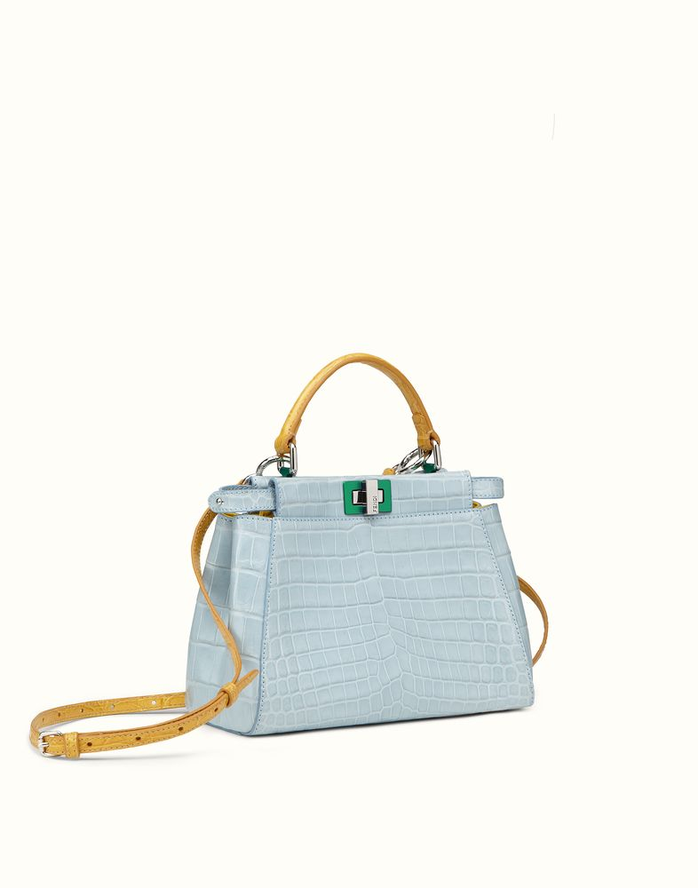 a7a1e2ff5ba1 FENDI | MINI PEEKABOO crocodile handbag | Accessories | Crocodile ...